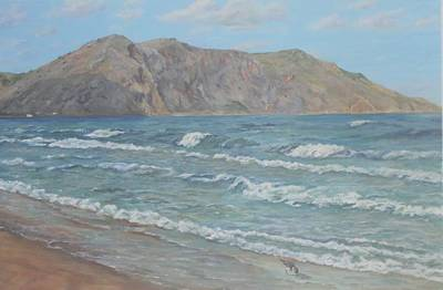 November At Georgioupoli Crete Original by David Capon