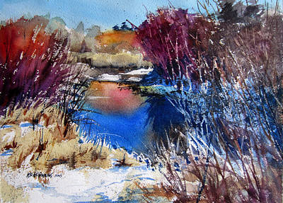 November Painting - November Primaries by Kris Parins