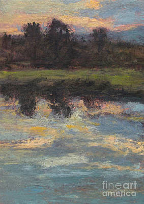 Painting - November Reflection - Hudson Valley by Gregory Arnett