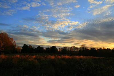 Photograph - November Skies  by Neal Eslinger