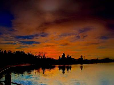 Rick Todaro Photograph - November Sky by Rick Todaro