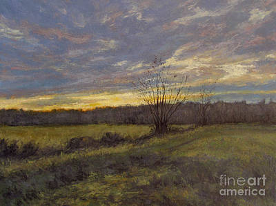 November Sunset Print by Gregory Arnett