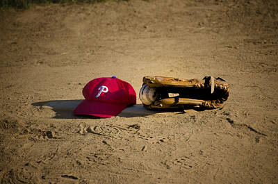 Now Pitching For The Phillies Print by Bill Cannon