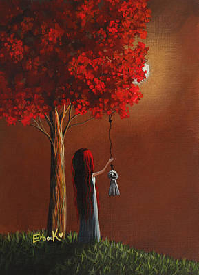 Different Design Painting - Now She Won't Be Alone 3 Original Artwork by Shawna Erback