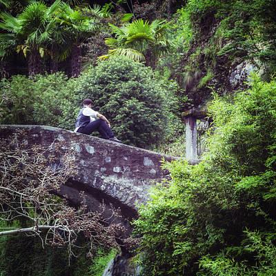 Stone Bridge Photograph - Nowhere Man by Joana Kruse