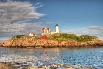 Water Photograph - Nubble Lighthouse by Donna Doherty