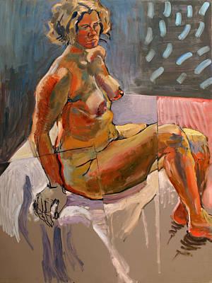 Nude-su Print by Piotr Antonow