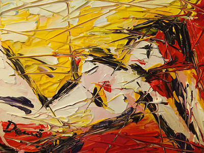 Quadri Painting - Nudo Disteso by Enrico Nicodemo