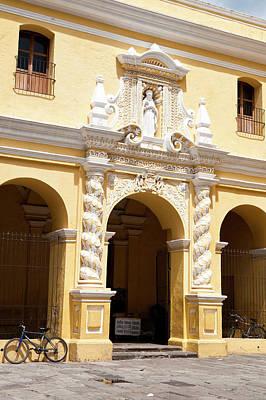 Iglesia Photograph - Nuestra Senora De La Merced Cathedral by Michael Defreitas