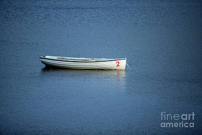 Number Two Boat Print by Iris Richardson