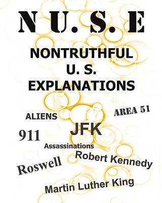 Nuse Book Cover    Print by Bruce Iorio