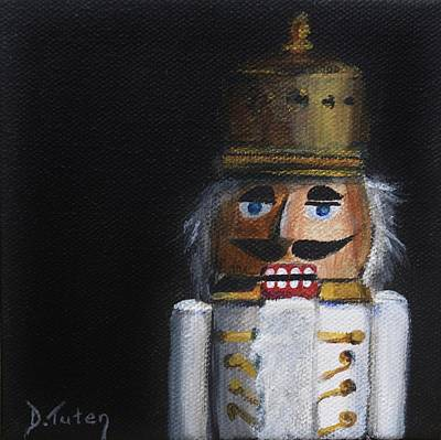Toy Soldiers Painting - Nutcracker I by Donna Tuten