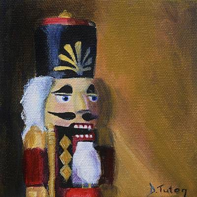 Toy Soldiers Painting - Nutcracker II by Donna Tuten