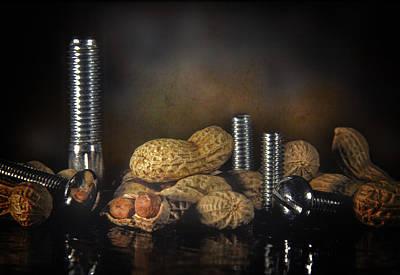 Nuts And Bolts Print by David and Carol Kelly