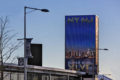 Tools Photograph - Ny Nj Super Bowl Xlviii by Susan Candelario
