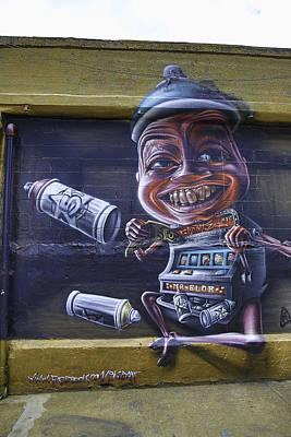 Nyc Graffitti Print by E Osmanoglu
