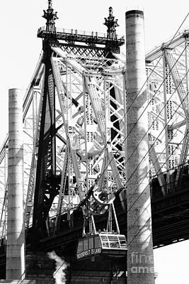 Nyc Queensboro Bridge Print by Robert Yaeger