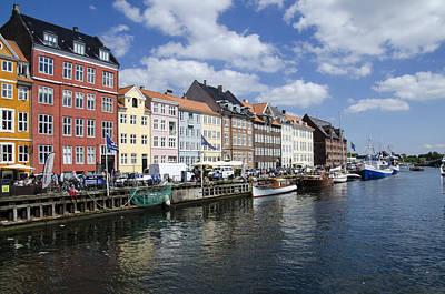 Nyhavn - Copenhagen Denmark Print by Jon Berghoff