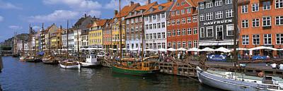 Nyhavn Copenhagen Denmark Print by Panoramic Images