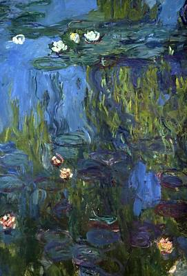 Waterlilies Painting - Nympheas by Calude Monet