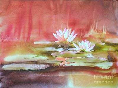 Waterlily Painting - Nympheas by Robert Hooper