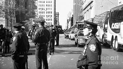 The Big Five Photograph - Nypd 1990s by John Rizzuto