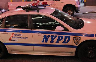 Nypd Print by Dan Sproul