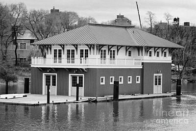 Nyrp Peter Jay Sharp Boathouse At Swindler Cove Park On The Harlem River New York City Print by Joe Fox