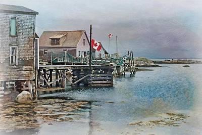 O Canada Print by Nikolyn McDonald