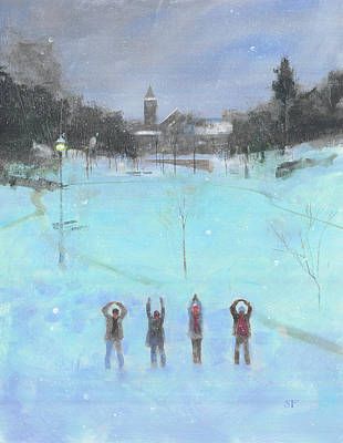 Harvard Painting - O-h-i-o by Stan Fellows