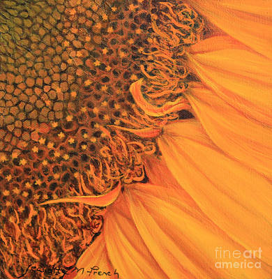 Matte Painting - O Sunflower by Jeanette French