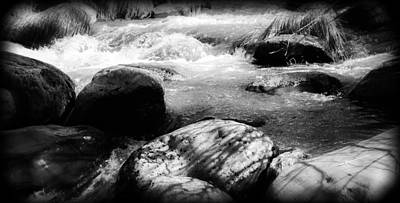 Black And White Photograph - Oak Creek Canyon by James Bethanis