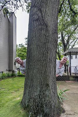 Doppelganger Photograph - Oak Twins by Brian Wallace