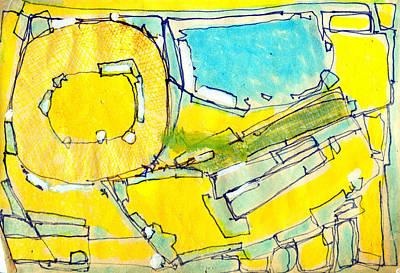 Hari E. Thomas Painting - Oasis by Hari Thomas