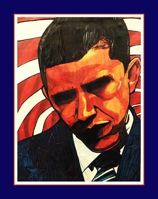 Obama Print by Boze Riley