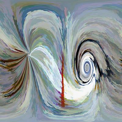 Vibrating Digital Art - Oblivious by Tom Druin