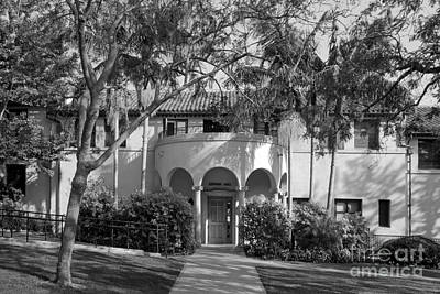 Occidental College Erdman Hall Print by University Icons