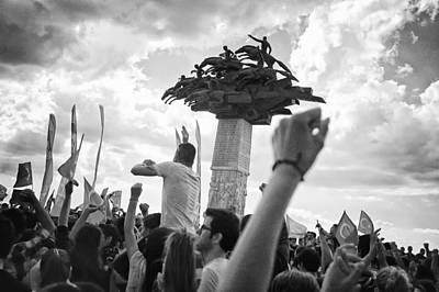 Occupy Photograph - Occupy Gezi Park - Protests Against Turkish Government by Ilker Goksen