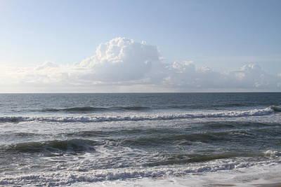 Calm Photograph - Ocean At Buxton Beach by Cathy Lindsey