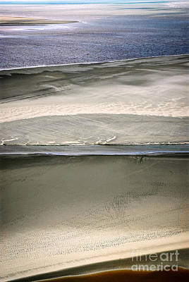 Birdseye Photograph - Ocean At Low Tide by Elena Elisseeva