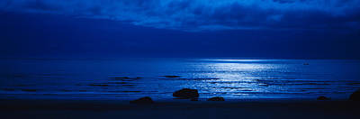 Coo Photograph - Ocean At Night, Bandon State Natural by Panoramic Images