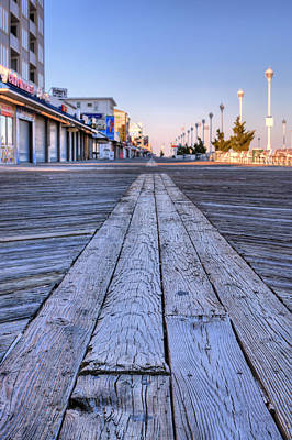 Boardwalk Photograph - Ocean City by JC Findley