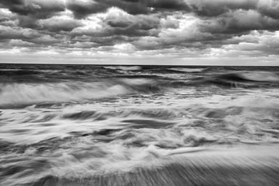 Ocean In Flux Print by Jon Glaser