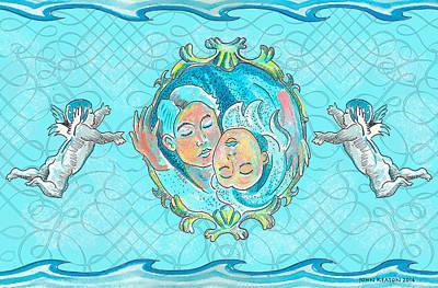 Painting - Ocean Of Love by John Keaton
