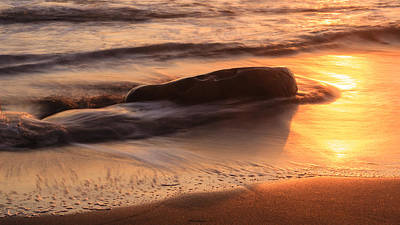 Ocean Rocks Print by Karma Boyer