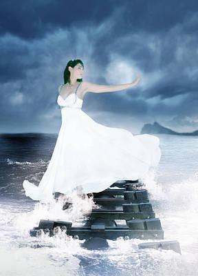 Goddess Digital Art Mixed Media - Siren by Ester  Rogers