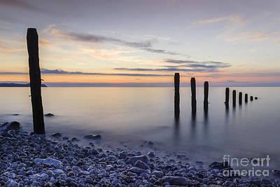 Ocean Sunrise Print by Ian Mitchell
