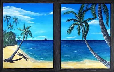 Ocean View Print by Anastasiya Malakhova