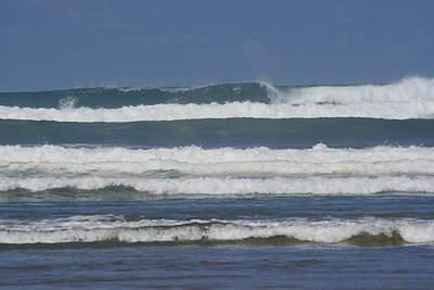 90 Mile Beach Photograph - Ocean Waves 3 by Phoenix De Vries