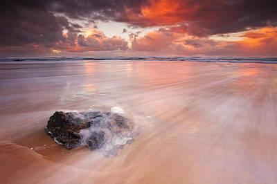 Ocean's Light Print by Darren  White